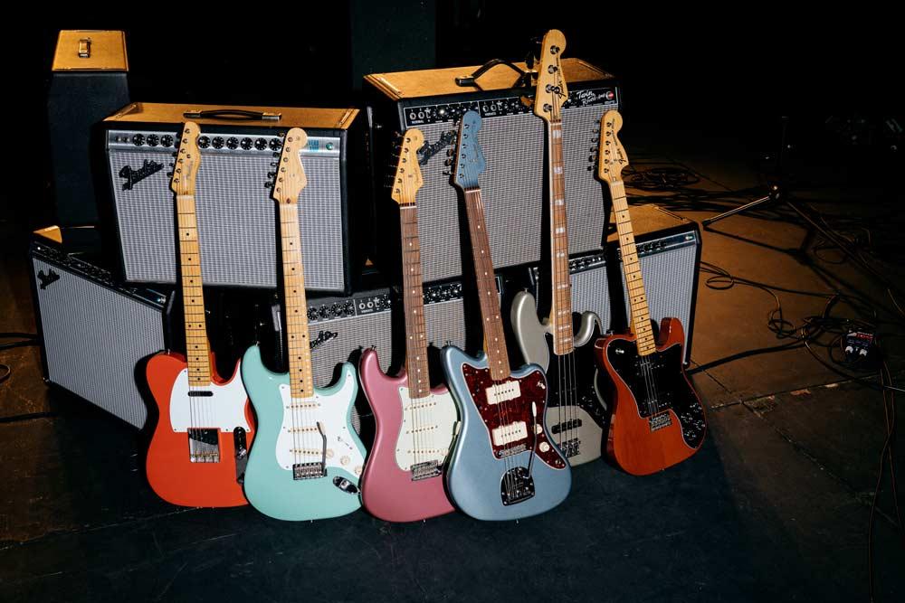 nuevas guitarras y bajos fender vintera pronorte. Black Bedroom Furniture Sets. Home Design Ideas