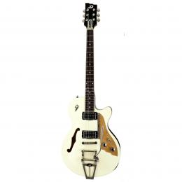 Duesenberg Starplayer TV Vintage White - Guitarra semi hollow