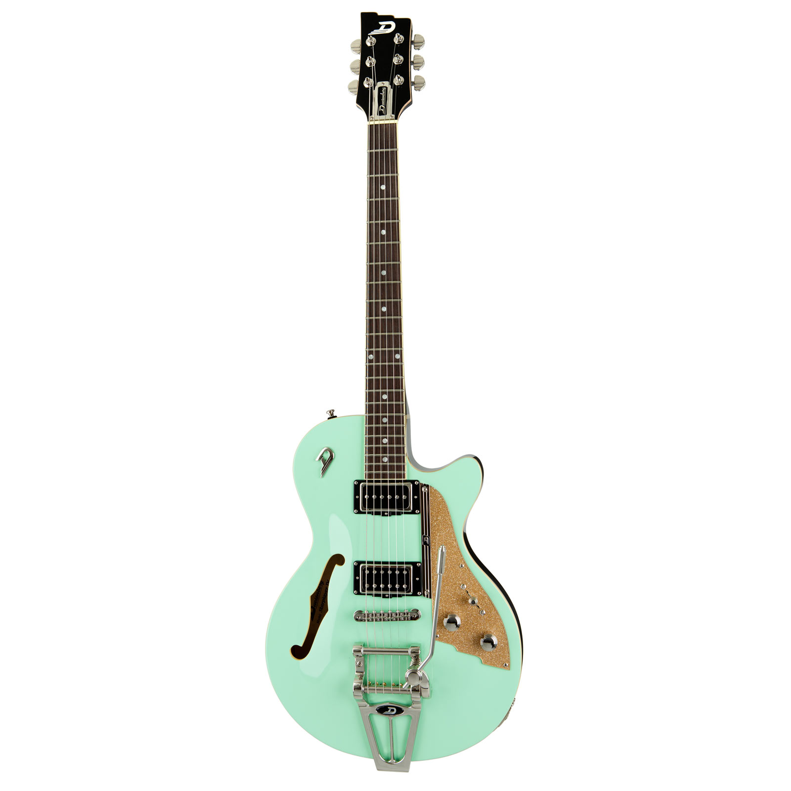 Duesenberg Starplayer TV Surf Green  - Guitarra semi hollow