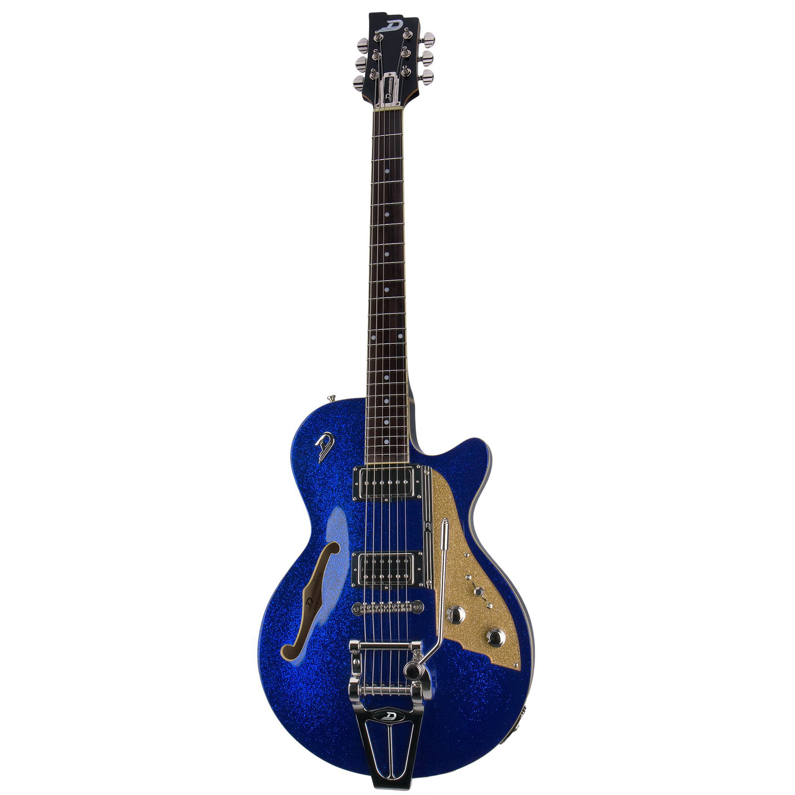 Duesenberg Starplayer TV Blue Sparkle - Guitarra semi hollow