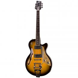Duesenberg Starplayer TV Two Tone Sunburst  - Guitarra semi hollow