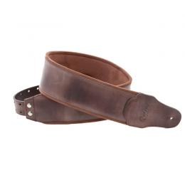 Righton Straps Bassman Smooth Brown - Correa artesana guitarra