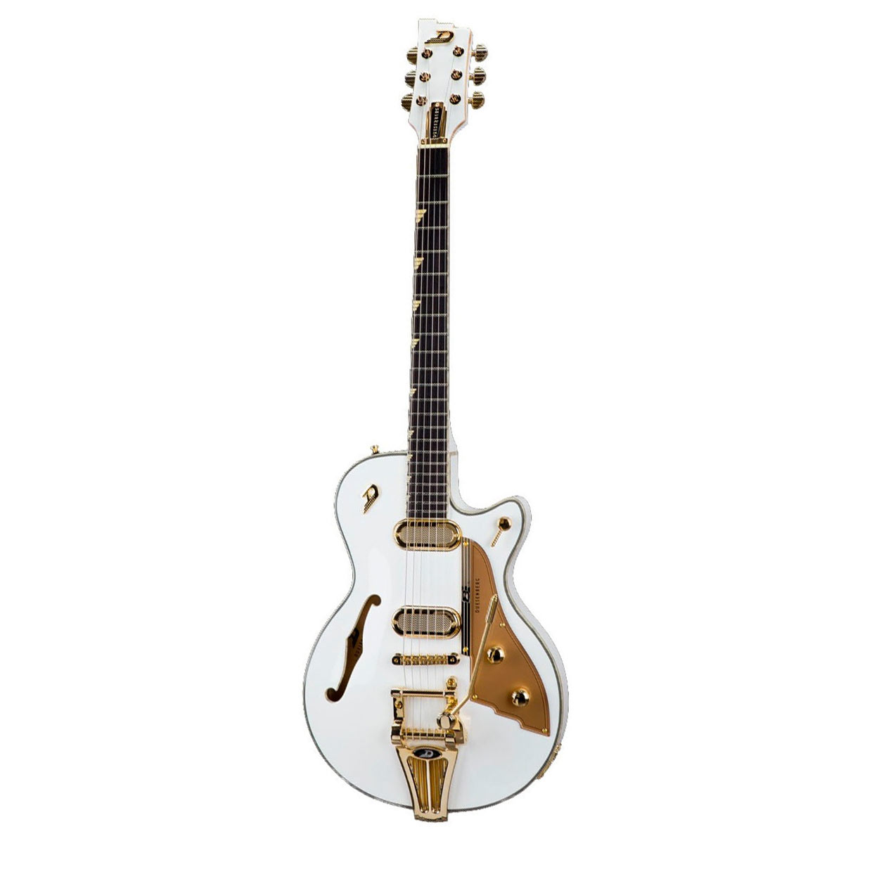 Duesenberg Starplayer TV Phonic Venetian White Guitarra semi hollow
