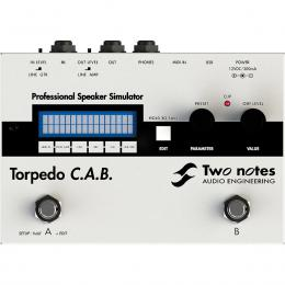 Two Notes Torpedo CAB - Pedal simulación amplis