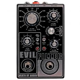 Death By Audio Evil Filter - Pedal filtro guitarra eléctrica