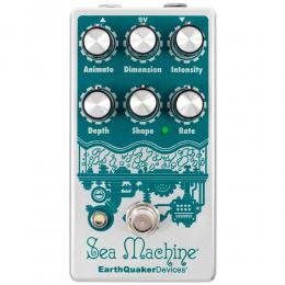 EarthQuaker Devices Sea Machine V3 - Pedal de guitarra chorus digital