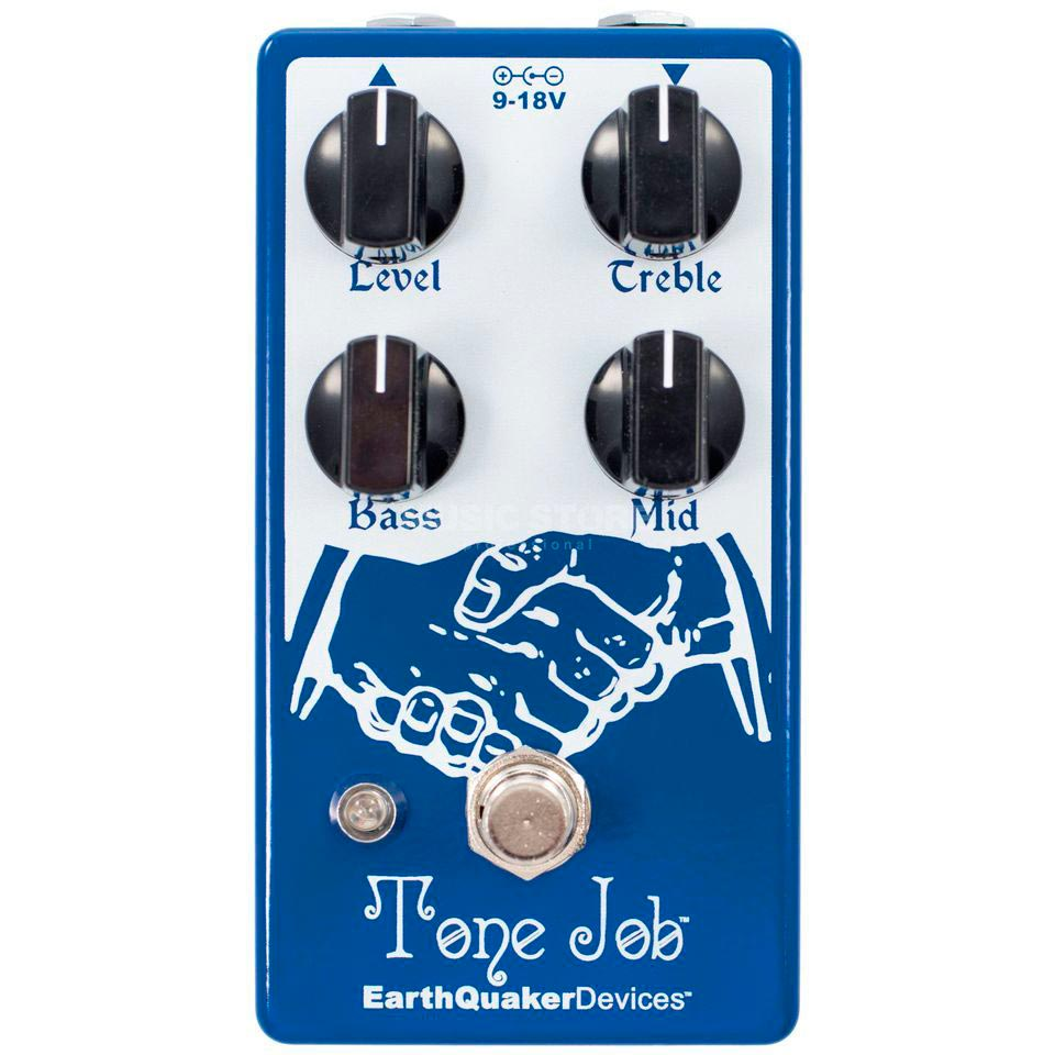 EarthQuaker Devices Tone Job V2 - Pedal ecualizador/booster guitarra