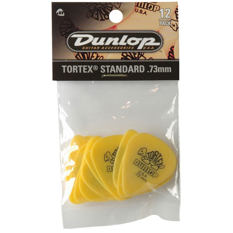 Dunlop Player Pack Tortex Standard 0,73mm - Pack púas