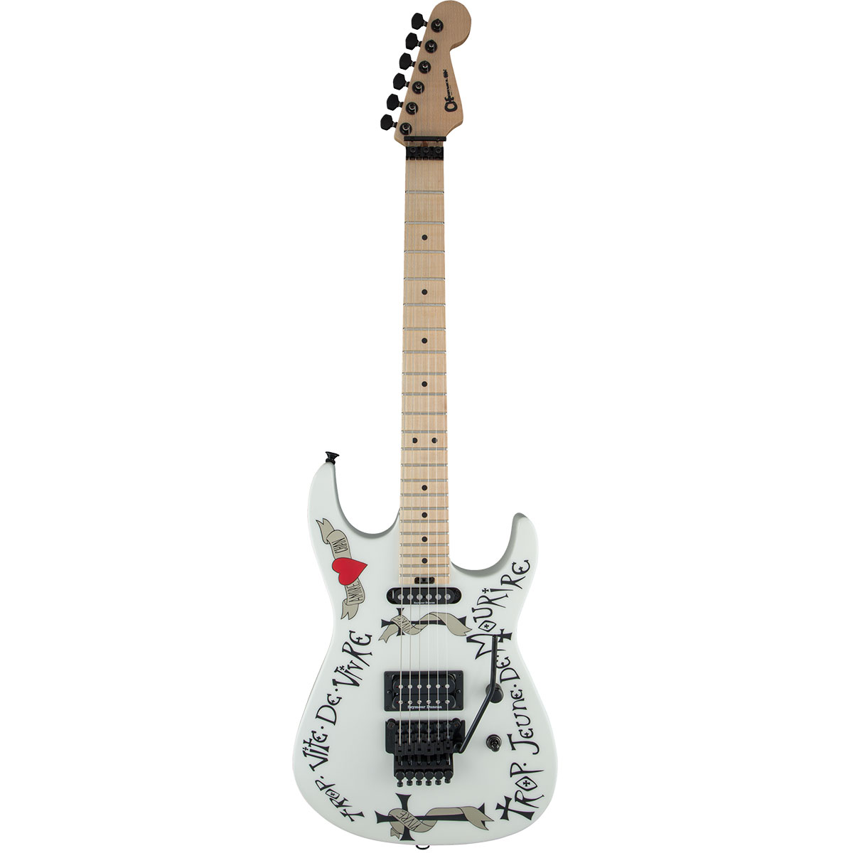 Charvel Warren DeMartini USA Signature Frenchie MN SNW - Guitarra