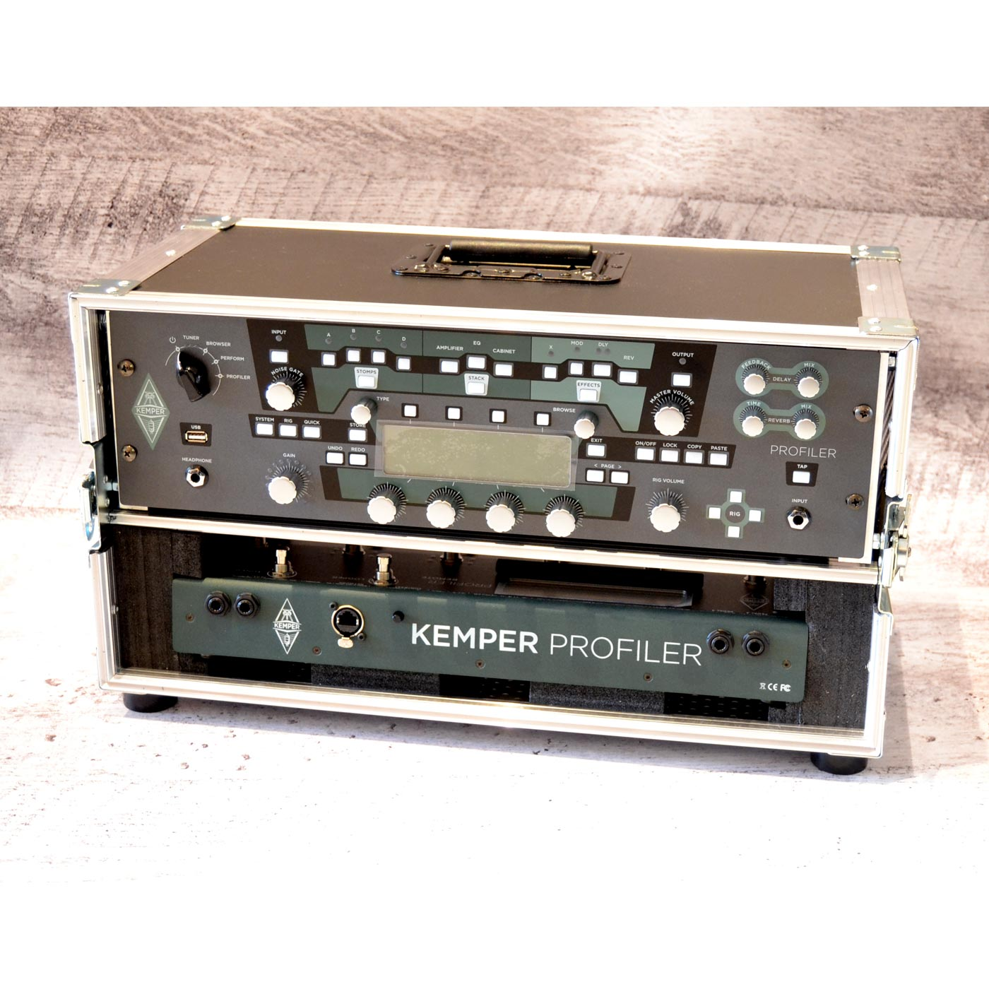 Pronorte Custom Kemper Rack Set Case - Flightcase Kemper