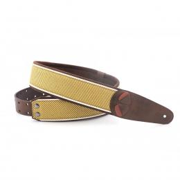 Righton Straps Mojo Tweed Brown - Correa artesana guitarra