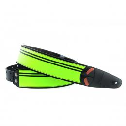 Righton Straps Mojo Neon Green - Correa artesana guitarra
