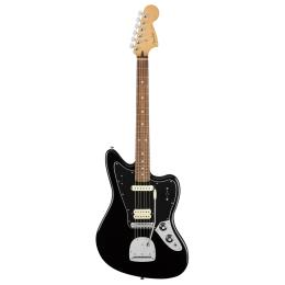Fender Player Jaguar PF BLK - Guitarra eléctrica
