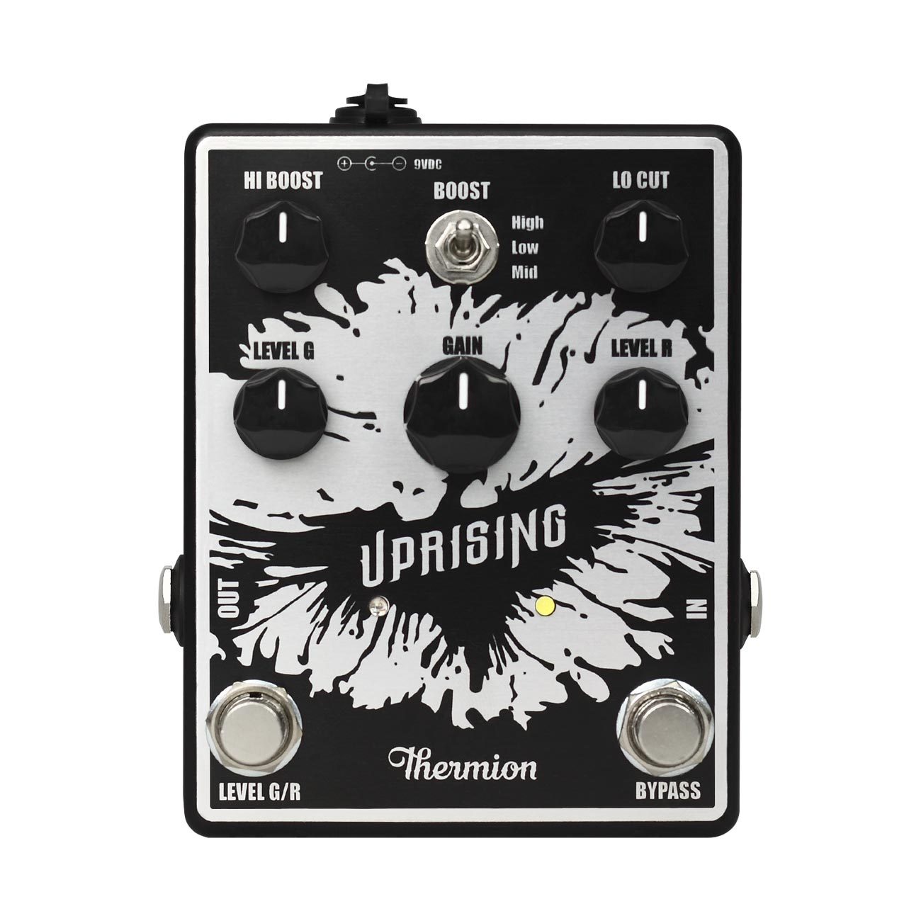 Thermion Uprising - Pedal booster para guitarra