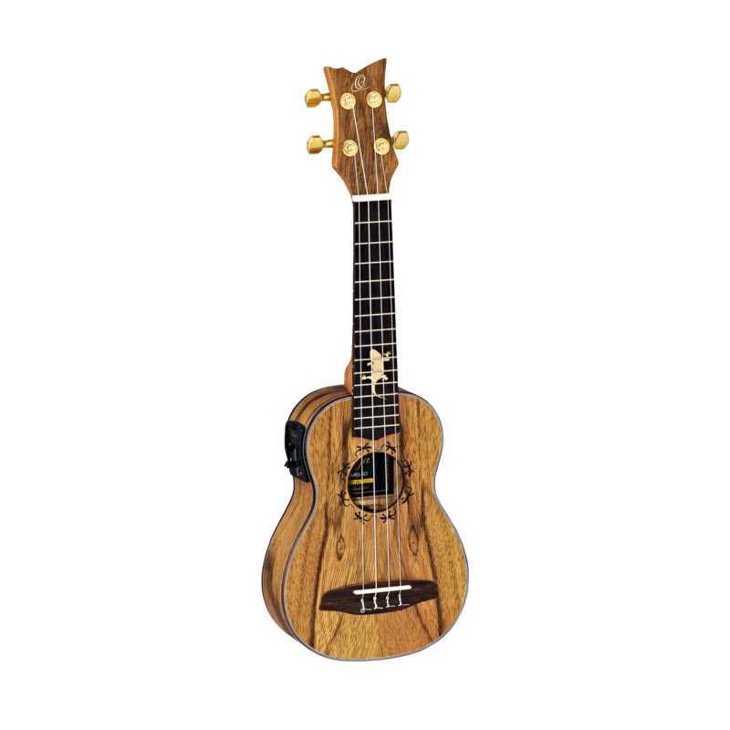 Ortega LIZARD-SO-GB Ukelele Soprano - Ukelele electrificado