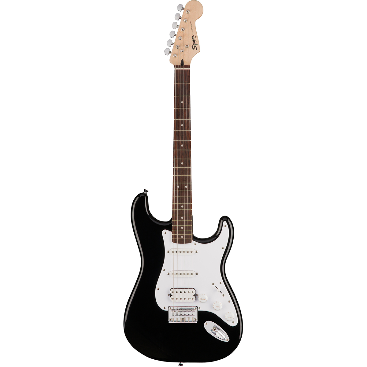 Squier Bullet Stratocaster Hard Tail HSS IL BLK - Guitarra strato