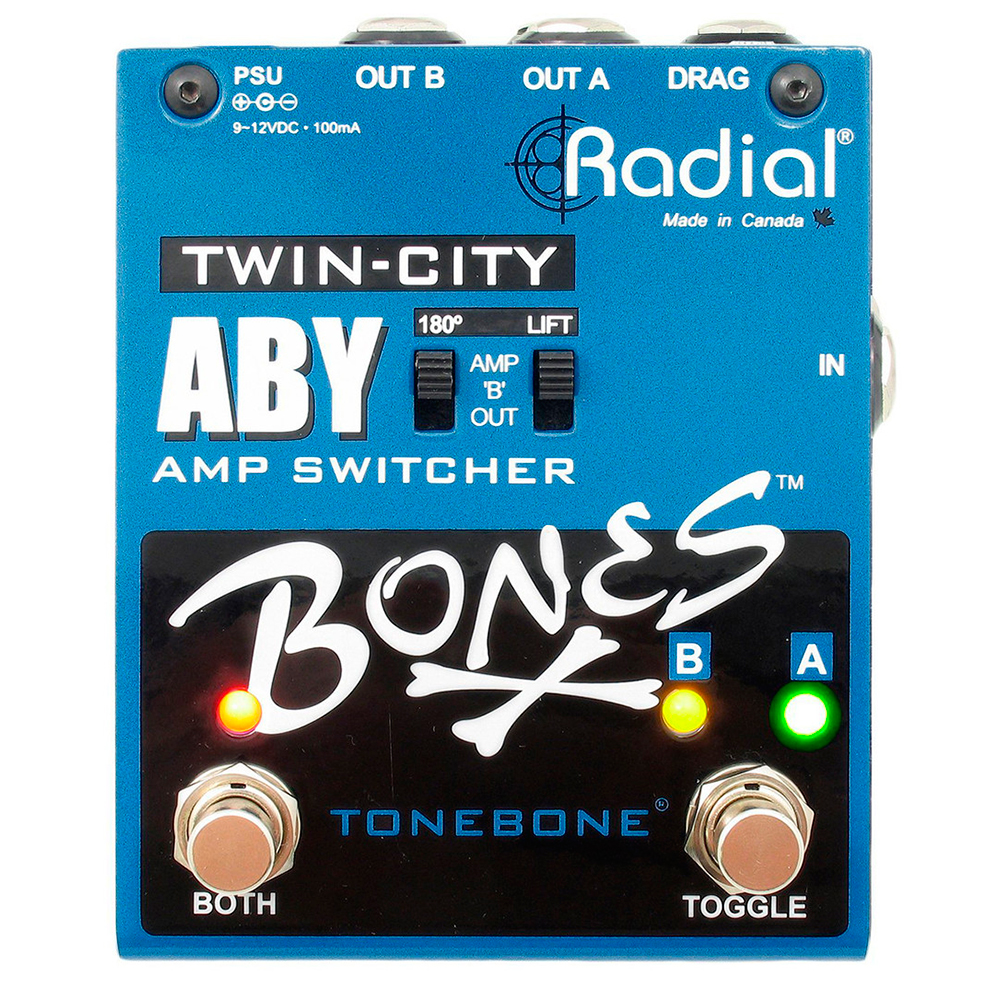 Radial Engineering Tonebone Bones Twin City ABY - Conmutador