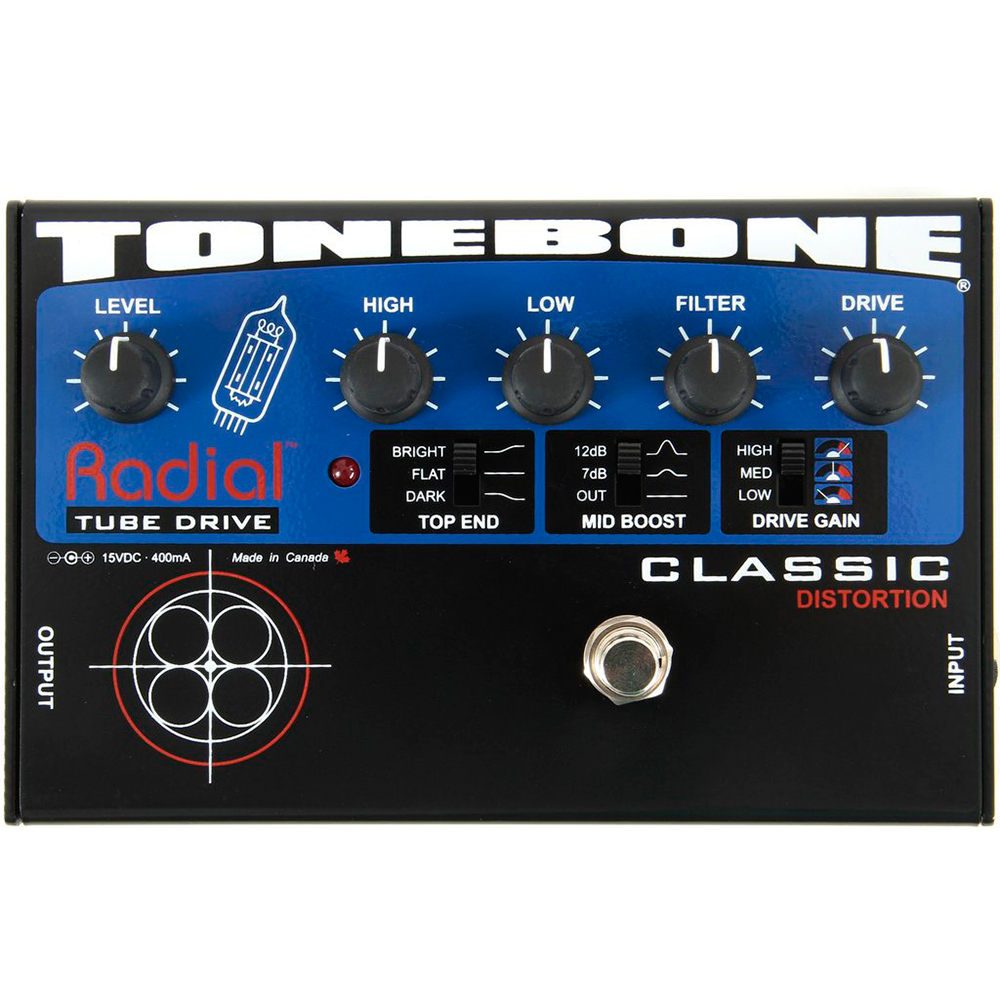 Radial Engineering Tonebone Classic Distortion - Pedal de distorsión
