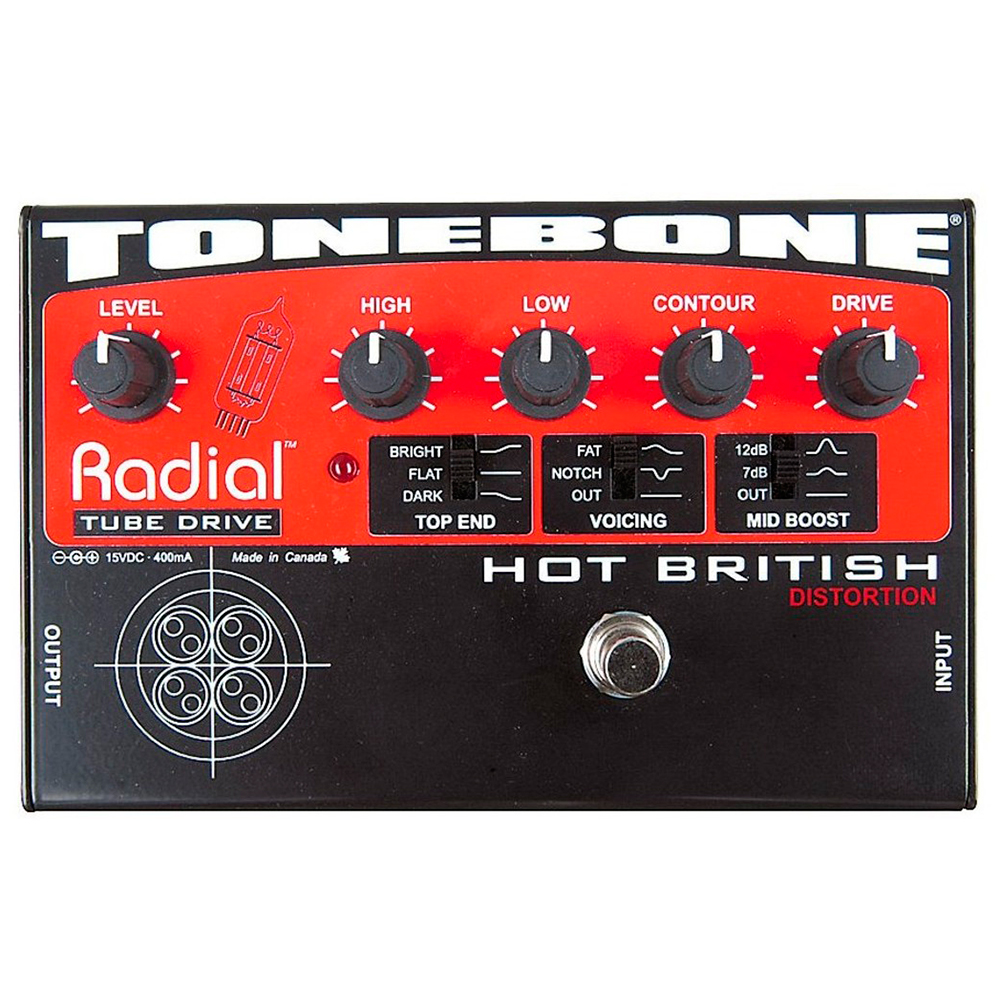 Radial Engineering Tonebone Hot British Distortion - Pedal distorsión