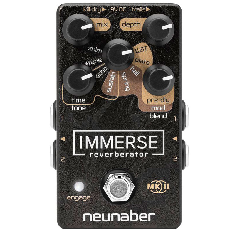 Neunaber Technology Immerse Reverberator MKII - Pedal reverb
