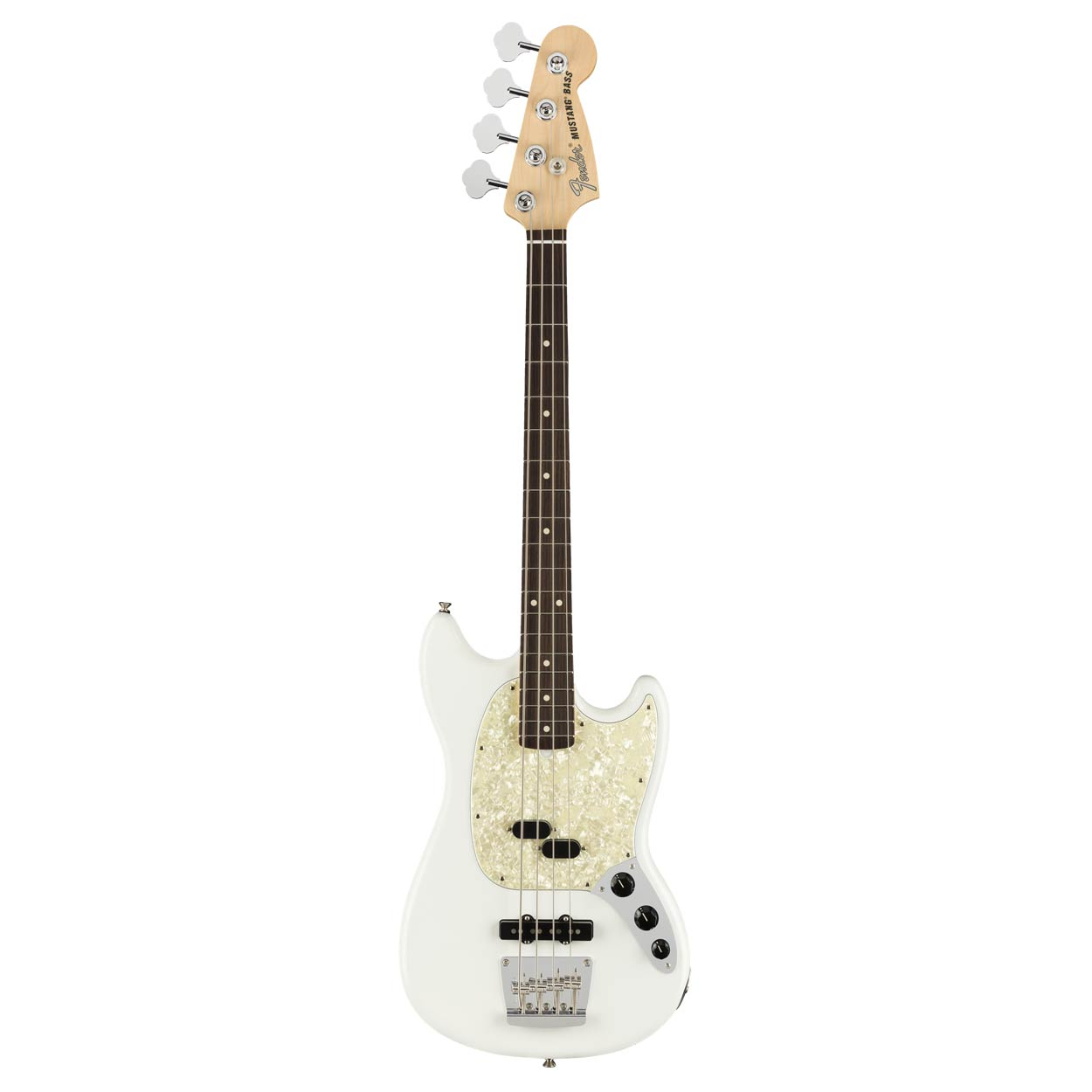 Fender American Performer Mustang Bass RW AWT - Bajo eléctrico