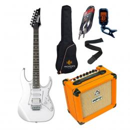 Pro Pack Ibanez GRG140-WH + Orange Crush 12 - Iniciación guitarra