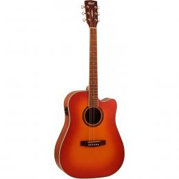 Cort Earth-300V SB - Guitarra acústica dreadnought