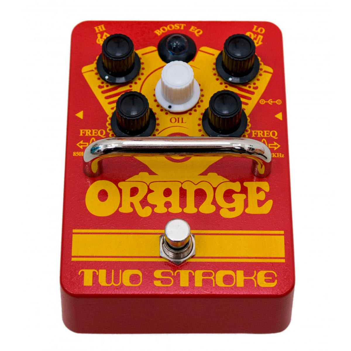 Orange Two Stroke Boost EQ - Pedal de efectos