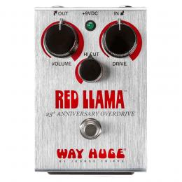 Way Huge Red Llama 25th Anniversary - Pedal overdrive guitarra