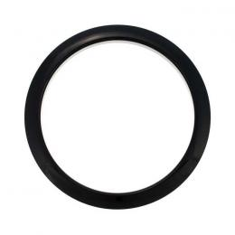 Bass Drum O's Hole Port HBL-5 Black - Refuerzo agujero bombo