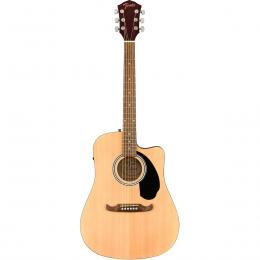 Fender FA-125CE Dreadnought WN NAT - Guitarra electroacústica