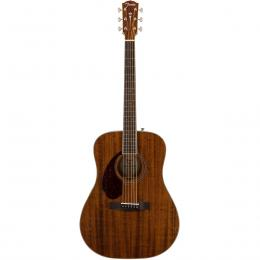 Fender PM-1 Dreadnought All-Mahogany LH OV NAT - Guitarra zurda