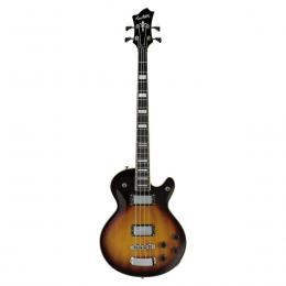 Hagstrom Swede Bass Tobacco Sunburst - Bajo single cutaway