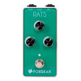 Foxgear Rats Distortion - Pedal para guitarra