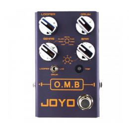 Pedal looper Joyo R-06 O.M.B Looper Drum Machine