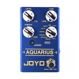 Pedal guitarra Joyo R-07 Aquarius Delay Looper