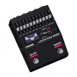 Pedal ecualizador Boss EQ-200 Graphic Equalizer