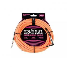 Cable para guitarra Ernie Ball EB6084 Orange-Neon 18ft