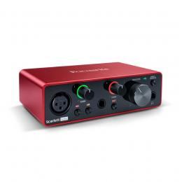 Interface audio USB Focusrite Scarlett Solo 3rd Gen