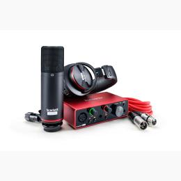Focusrite Scarlett Solo Studio Pack 2nd - Interface audio USB