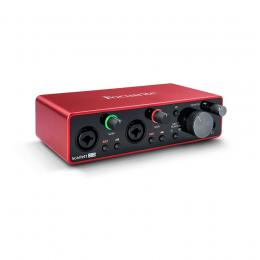Interface audio USB Focusrite Scarlett 2i2 3rd Gen