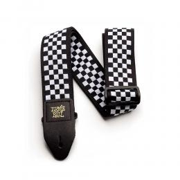 Correa guitarra Ernie Ball B&W Checkered Jacquard Strap