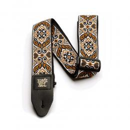 Correa guitarra Ernie Ball Tribal Brown Jacquard Strap