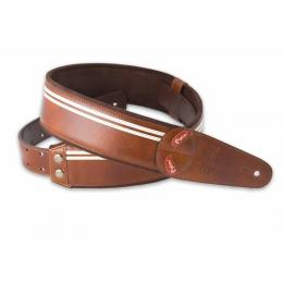 Righton Straps Mojo Race Brown - Correa guitarra bajo artesana