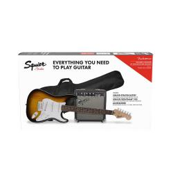 Pack iniciación guitarra Squier Stratocaster Pack BSB