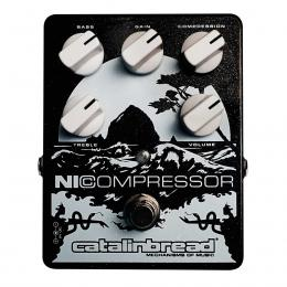 Pedal compresor para guitarra Catalinbread NICompressor Black and Silver