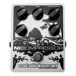 Pedal compresor para guitarra Catalinbread NICompressor White Soft Pearl