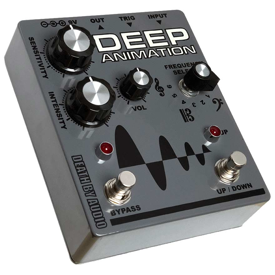 Pedal guitarra envelope filter Death By Audio Deep Animation