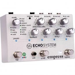 Pedal de delay Empress Effects Echosystem