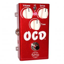 Pedal de overdrive para guitarra eléctrica Fulltone OCD Candy Apple Red
